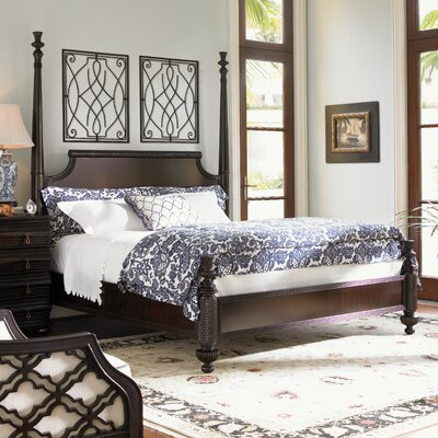 Royal Kahala Four poster Bed Size: King