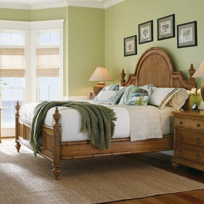 Beach House Panel Bed Size: Queen