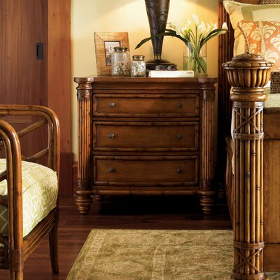 Island Estate 3 Drawer Bachelors Nightstand