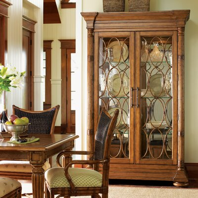 Island Estate Mariana Lighted Curio Cabinet