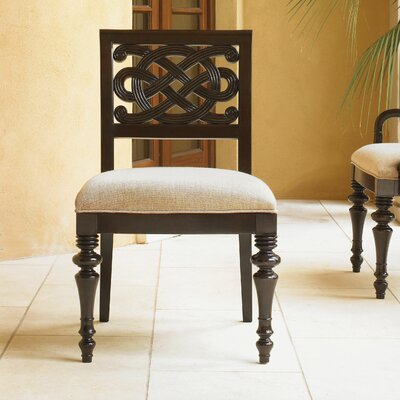 Royal Kahala Molokai Dining Chair Side Chair Upholstery: Woven Golden Ivory