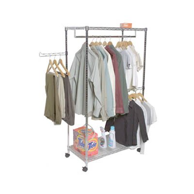 Sensible storage 2 Shelf Mobile Garment And Laundry Center at Sears.com