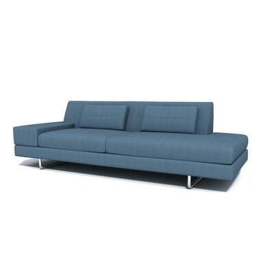 Hamiln One Arm Sofa with Chaise Orientation: Left Hand Facing, Upholstery: Sea Blue