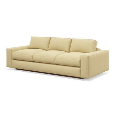 Jackson 92 Standard Sofa Upholstery: Sable, Frame Finish: Walnut