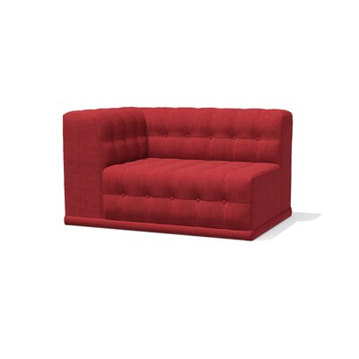Bump Bump Return Sofa Upholstery: Plum