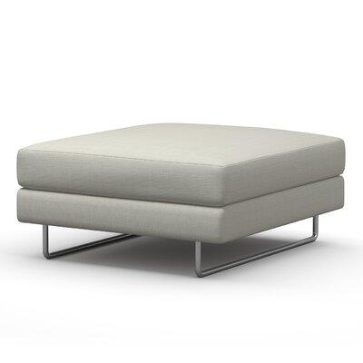 Hamlin Ottoman Upholstery: Azure
