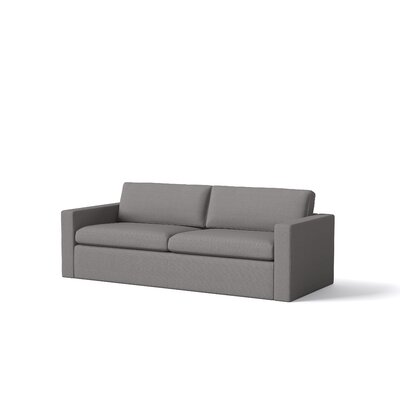 Marfa Sofa Body Fabric: Klein Mouse