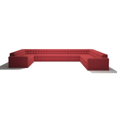 Bump Bump Sectional Body Fabic: Marlow Asphalt
