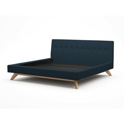 Luna Upholstered Platform Bed