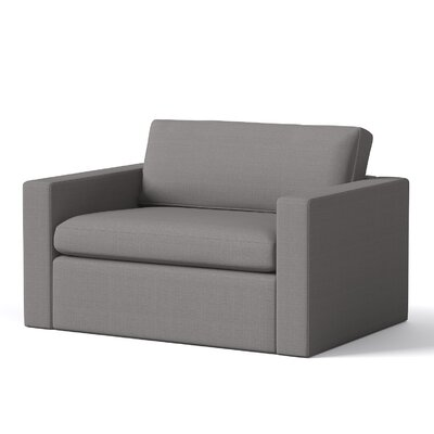 Marfa Chair Body Fabric: Klein Dolphin