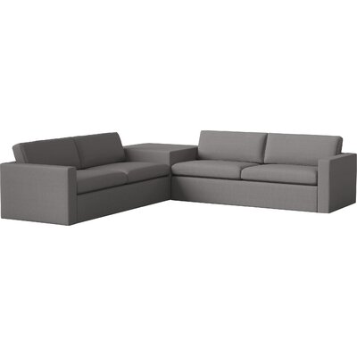 Marfa Sectional Body Fabric: Klein Dolphin