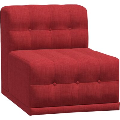 Bump Bump Side Chair Body Fabric: Marlow Red