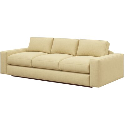Jackson 92 Standard Sofa Body Fabric: Marlow Tumbleweed, Frame Finish: Natural Honey Alder
