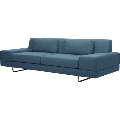 Hamlin 86 Sofa Body Fabric: Klein Sea Blue