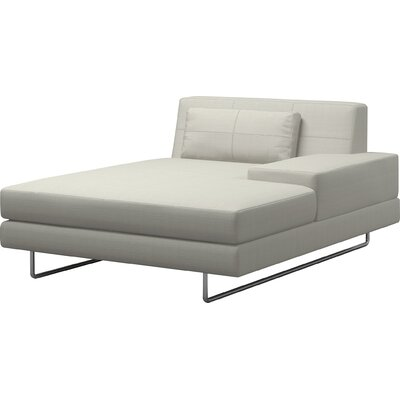 Hamiln Chaise Lounge Body Fabric: Klein Mouse, Sectional Orientation: Right Hand Facing