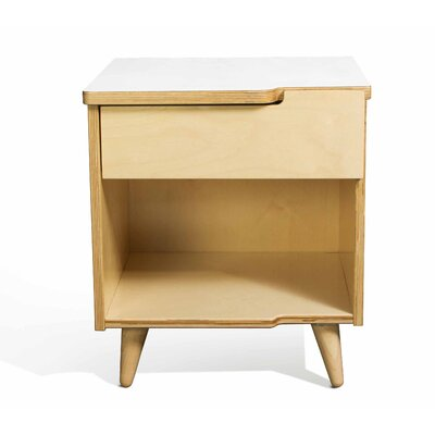 11 Ply Nightstand Finish White