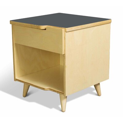 11 Ply 1 Drawer Nightstand Finish Gray