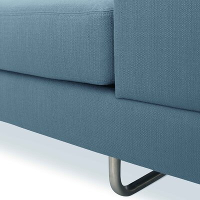Hamlin Slipper Chair Color: Sea Blue