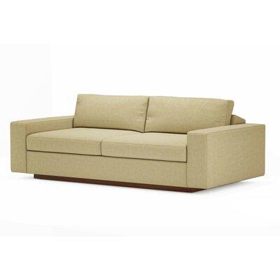 Jackson 80 Condo Sofa Upholstery: Tumbleweed, Frame Finish: Espresso Stained Alder