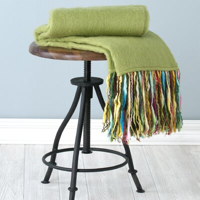 Fab Throw Blanket Color: Green