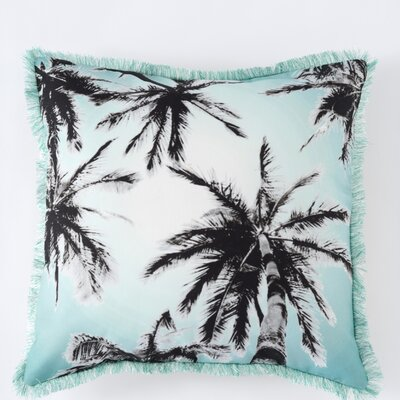 Biscayne Palm Tree Pillow