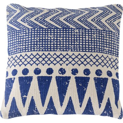 Basant Block Print Pillow