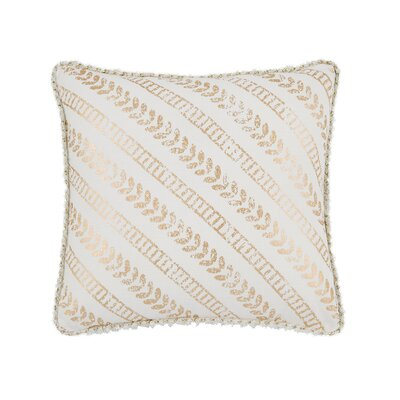 Bayles Foil Print Square Throw Pillow
