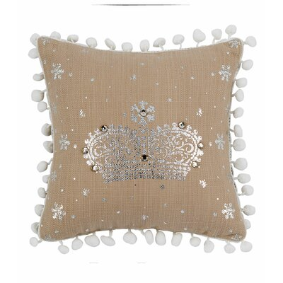 Meira Crown Mini Throw Pillow