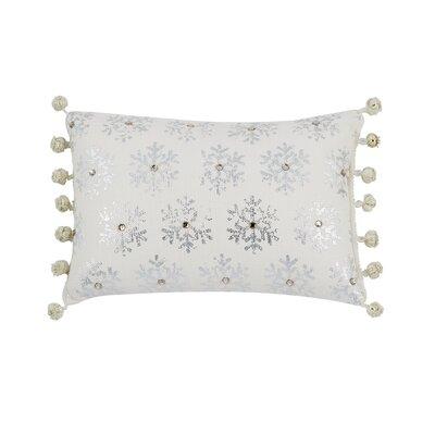 Bayles Snowflake Lumbar Pillow