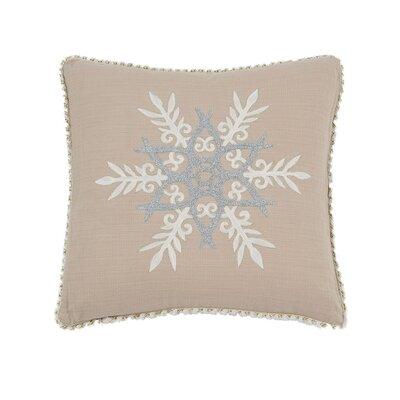 Bayles Snowflake Throw Pillow