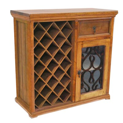 23 Bottle Bar with Wine Storage
