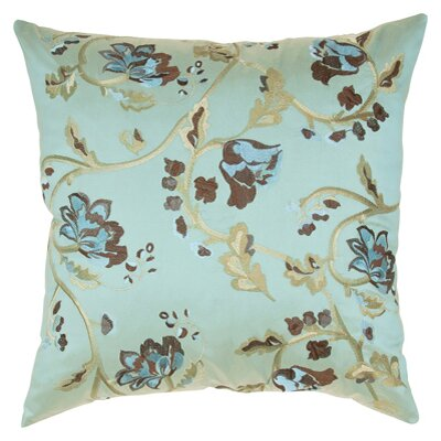 Floral Embroidery Throw Pillow C712 20 x 20