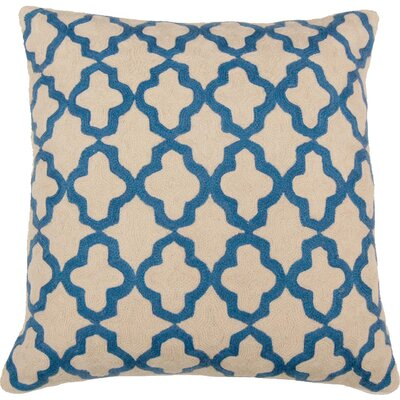 Royal Hand Embroidery Throw Pillow