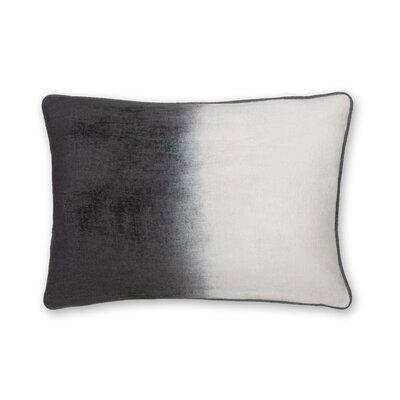 Gradient Shaded Velvet Lumbar Pillow