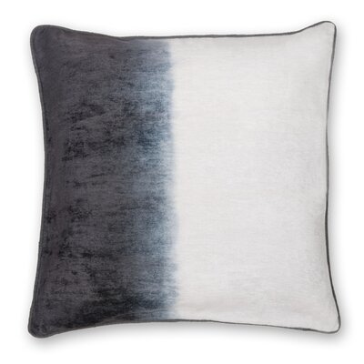 Gradient Shaded Velvet Throw Pillow