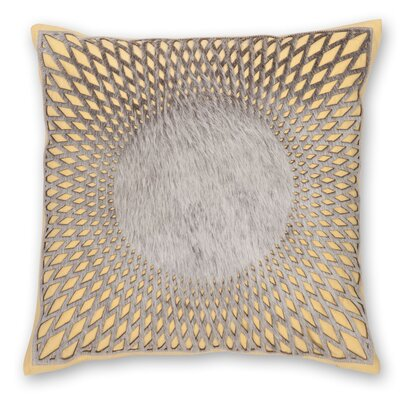 Aurora Linen Throw Pillow Color: Yellow