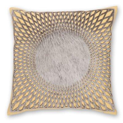 Aurora Linen Throw Pillow Color: Yellow