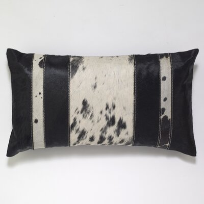 Striped Hairon Lumbar Pillow
