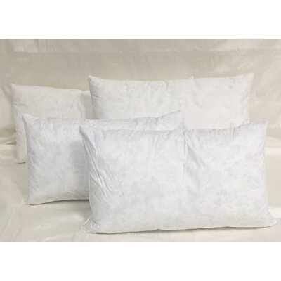 Cotton Pillow Insert Size: 24 H x 24 W x 3 D