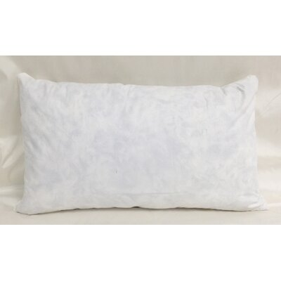 Cotton Pillow Insert Size: 13 H x 21 W x 3 D
