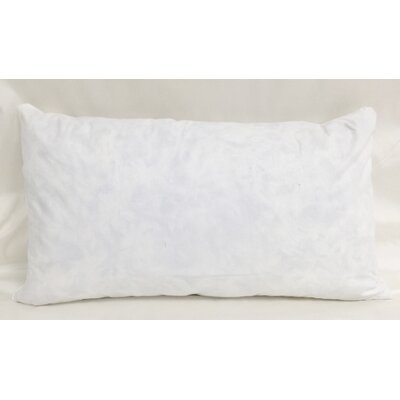 Cotton Pillow Insert Size: 15 H x 21 W x 3 D