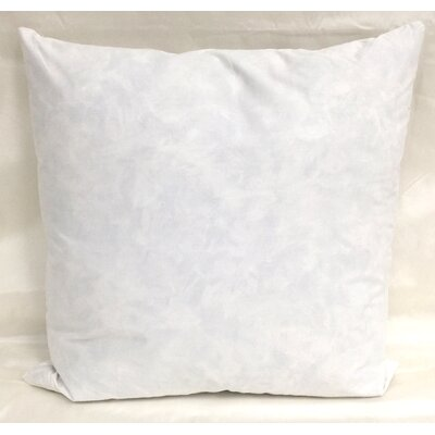 Cotton Pillow Insert Size: 19 H x 19 W x 3 D