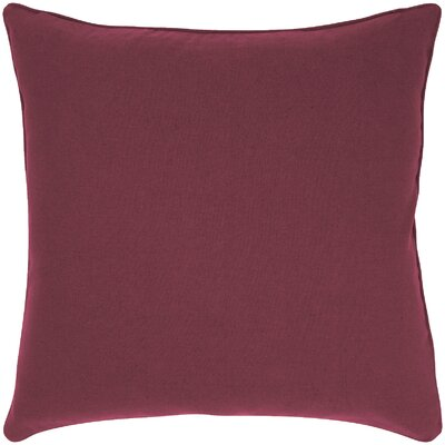 Linen Throw Pillow Color: Brick