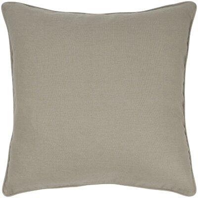 Linen Throw Pillow Color: Brown Sugar