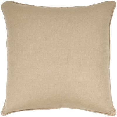 Linen Throw Pillow Color: Corn Seed