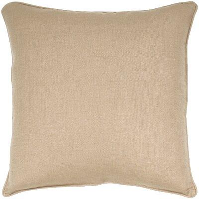 Linen Throw Pillow Color: Corn Seed