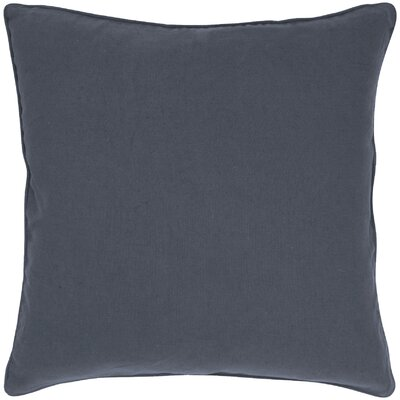 Linen Throw Pillow Color: Pewter