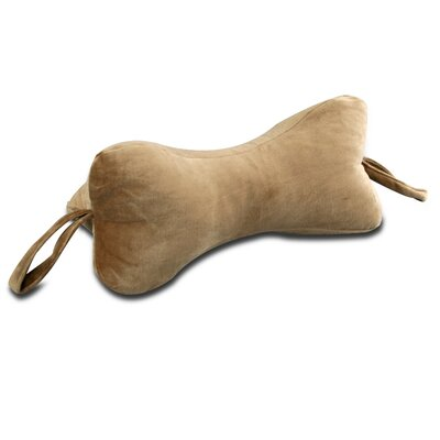 The Original NeckBone Pillow Color: Brown