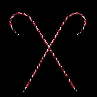 Lighted Candy Cane Archway Pathway Markers Outdoor