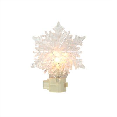 Snowy Winter Decorative Snowflake Christmas Night Light
